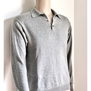 CASHMERE GRAY SWEATER